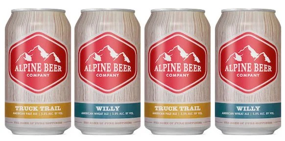 Alpine Beer Co Cans