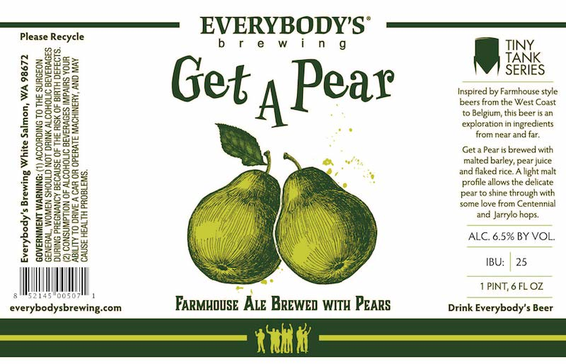Everybodys Brewing-Get a Pear