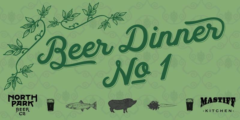 North Park Beer Co. - Beer Dinner No. 1
