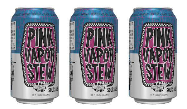 Ska Brewing Pink Vapor Can