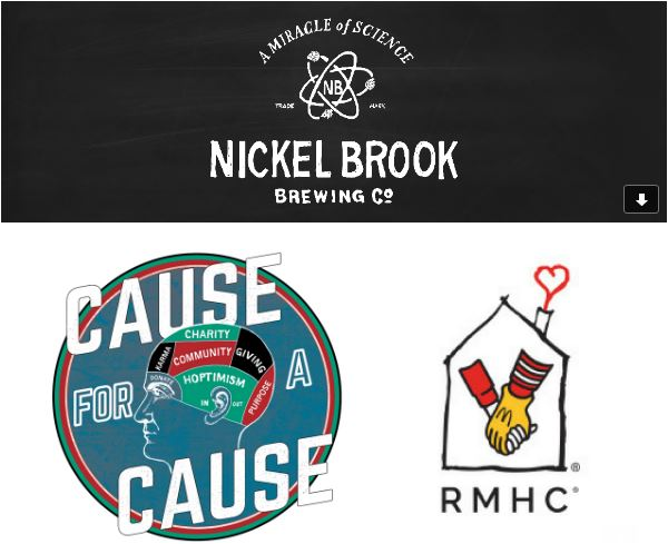 Nickelbrook Brewing Co. - Cause for a Cause