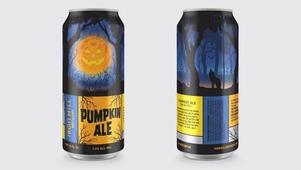 Iron Hill Pumpkin Ale Cans