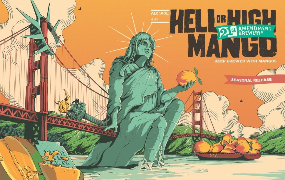 21st Amendment Hell or High Mango