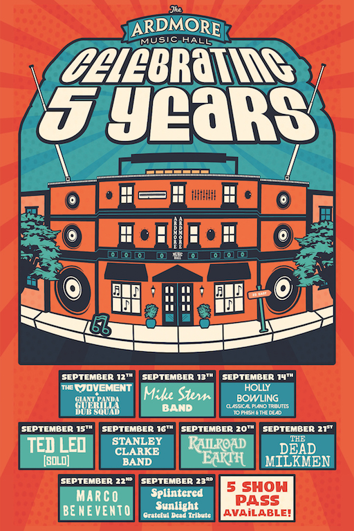 Ardmore Music Hall 5 years