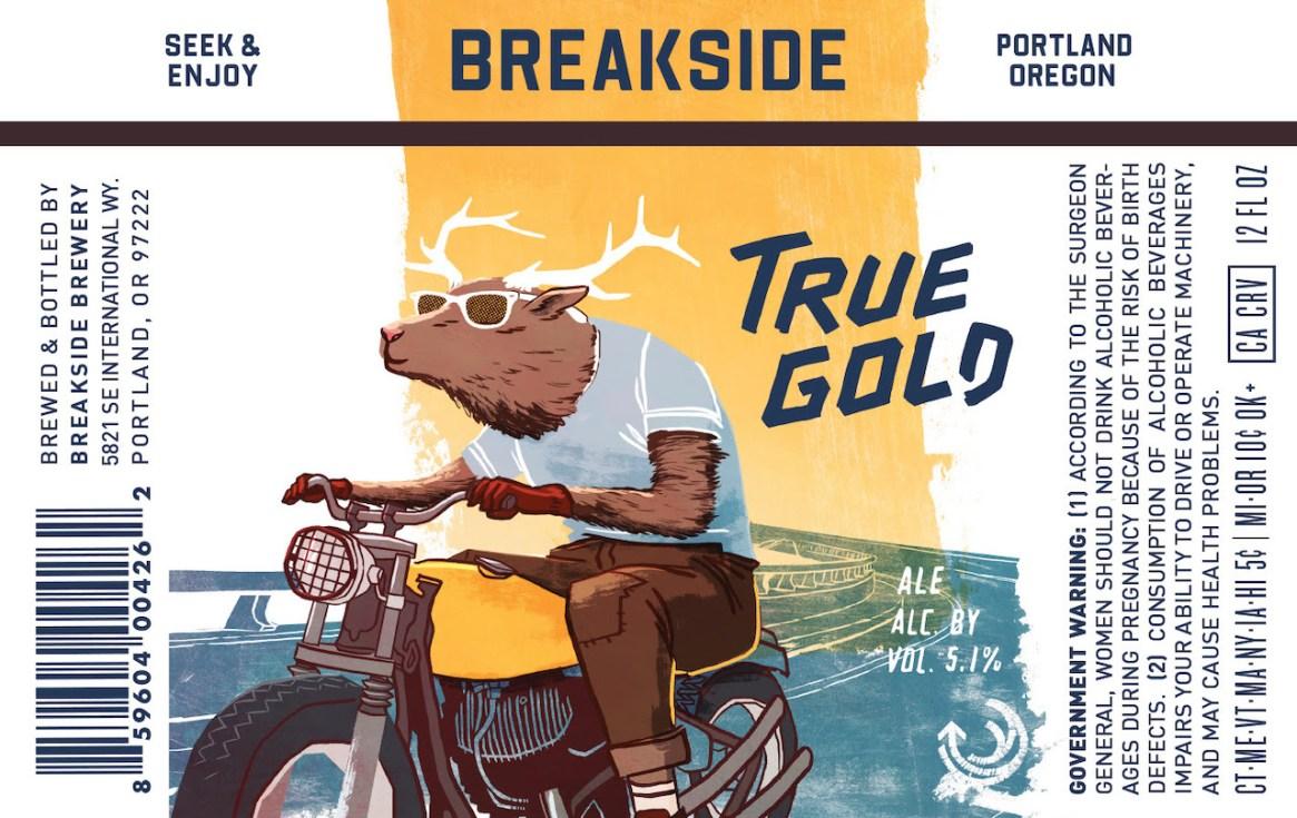Breakside Brewery True Gold