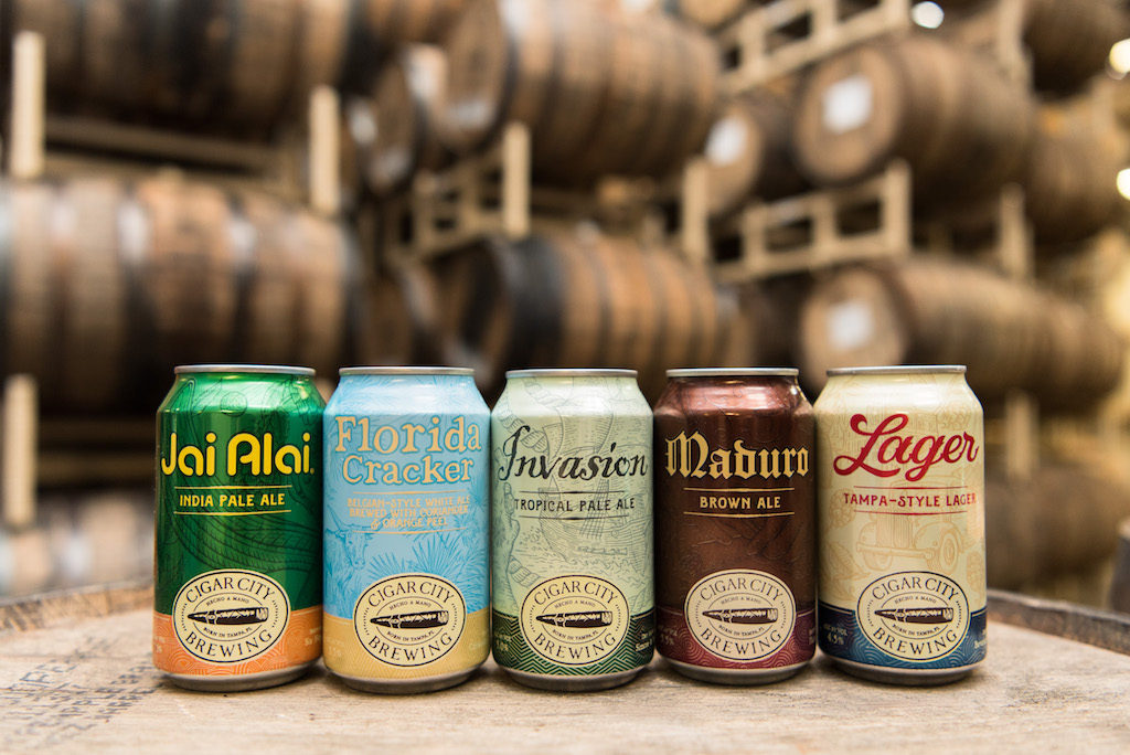 Cigar City New Cans