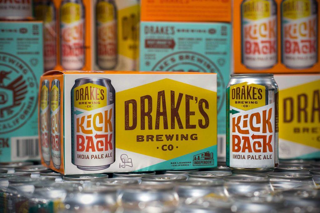 Drakes Kickback IPA Cans