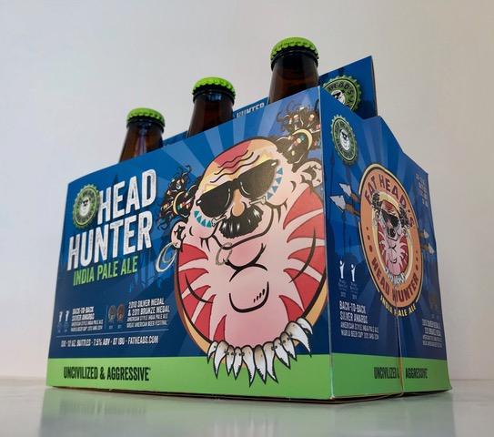 Fat Heads Head Hunter IPA Six Pack Holder