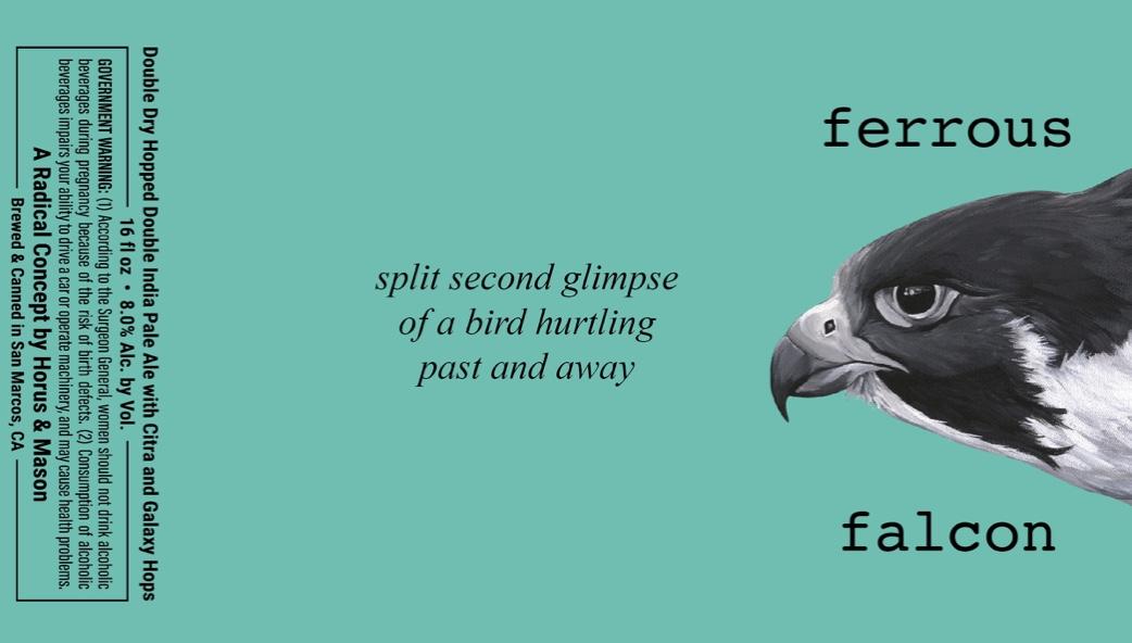 Ferrous Falcon spit second label