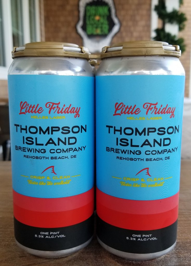 Thompson Island Brewing - Little Friday Helles Lager (cans)