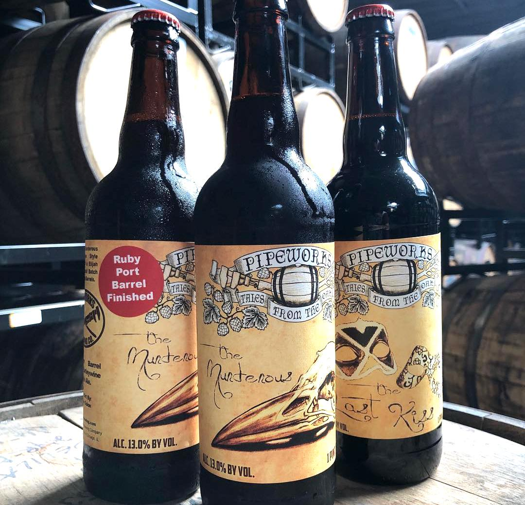 Pipeworks Brewing Barrel Aged Murderous