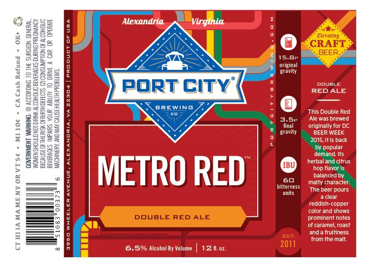 Port City Metro Red