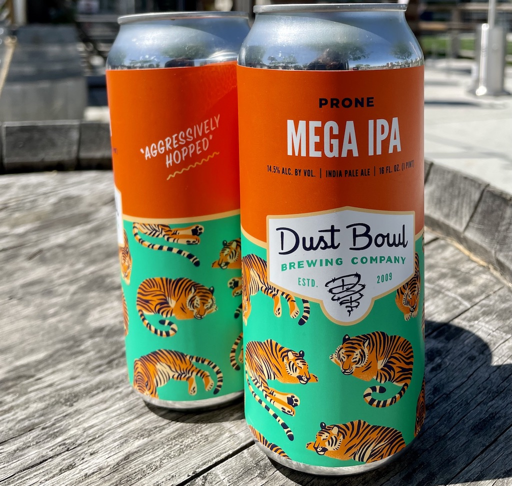Prone Mega IPA by Dust Bowl Brewing Co.