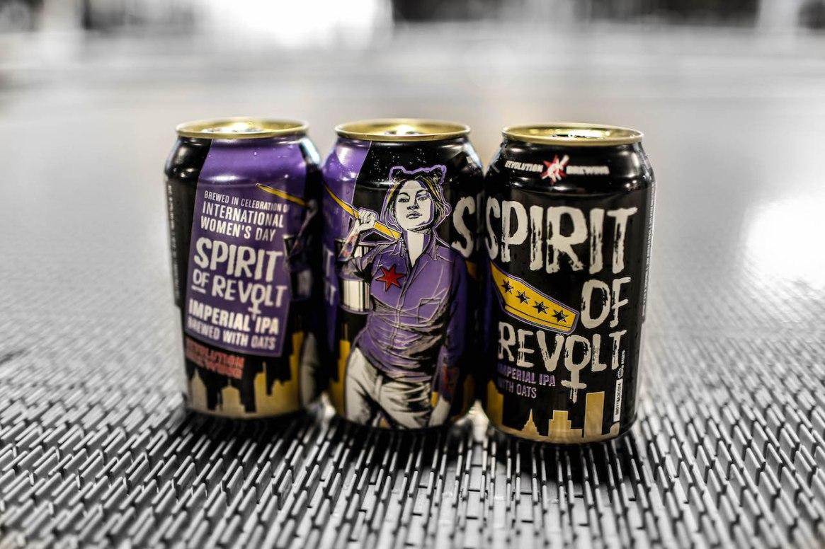 Spirit of Revolt cans