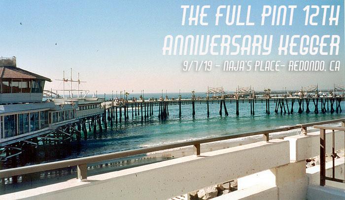The Full Pint 12th Anniversary