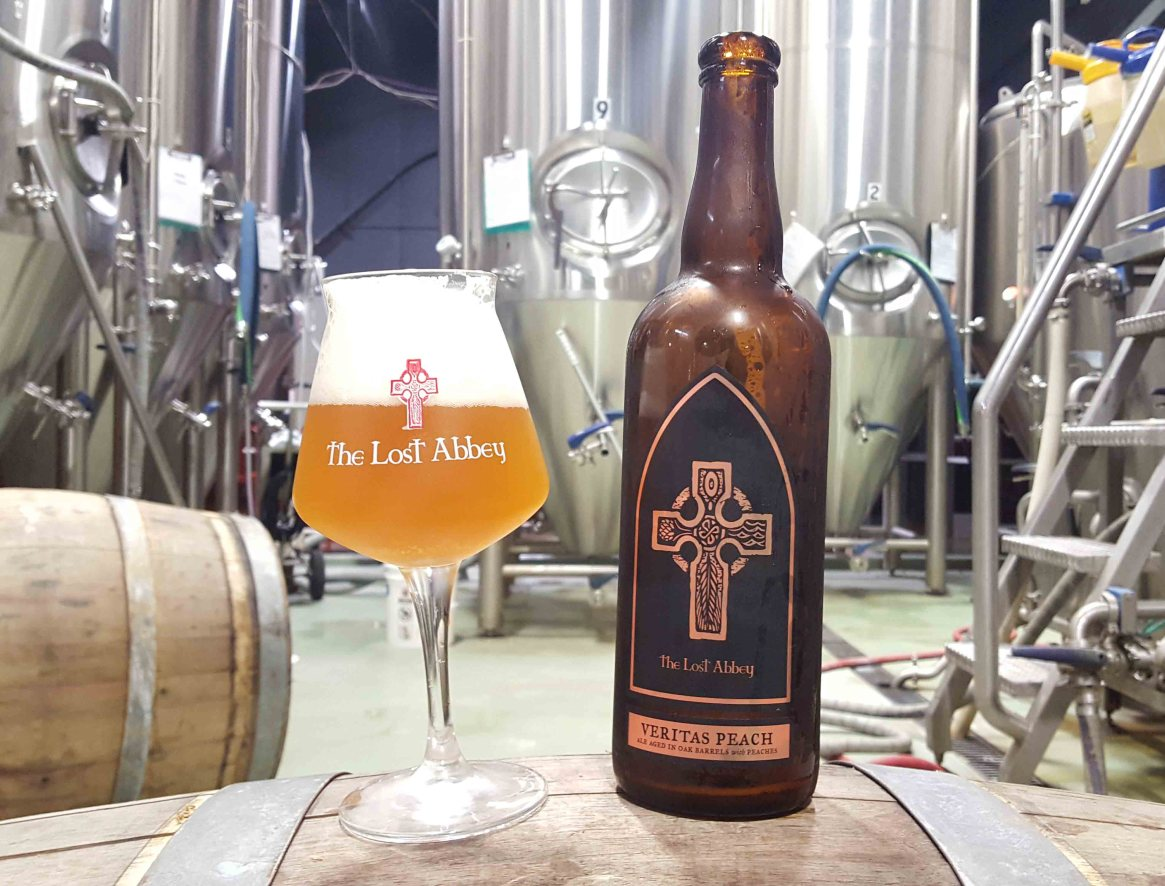 The Lost Abbey Veritas Peach