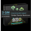 920 DARK CHOCOLATE MINT CUBE