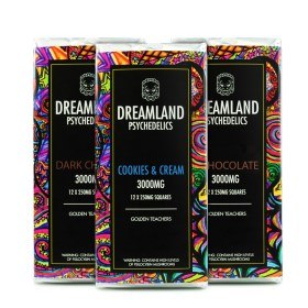 Dreamland Psychedelics Mushroom Chocolates – 1200 – 3000 mg