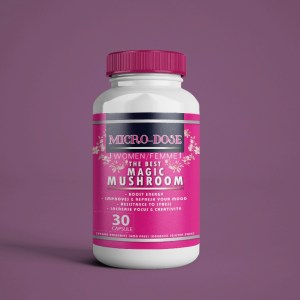 The Best Micro Dose For Women – 30 Capsules