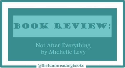 book review - not after everything