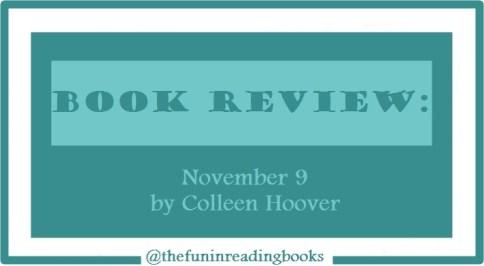 book review - november 9