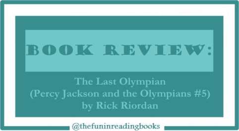 book review - percy jackson #5