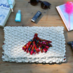 DIY – Ma pochette en trapilho