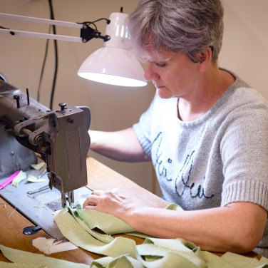 Amy Otteson, sewing welt cord