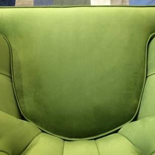 New cushion, carefully patterned