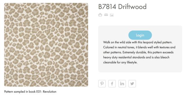 B7814 Driftwood Greenhouse Fabrics