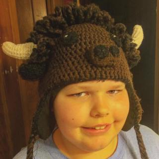 Buffalo Hat by Ramona Byers