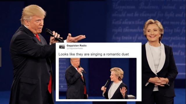 Clinton Trump Duet