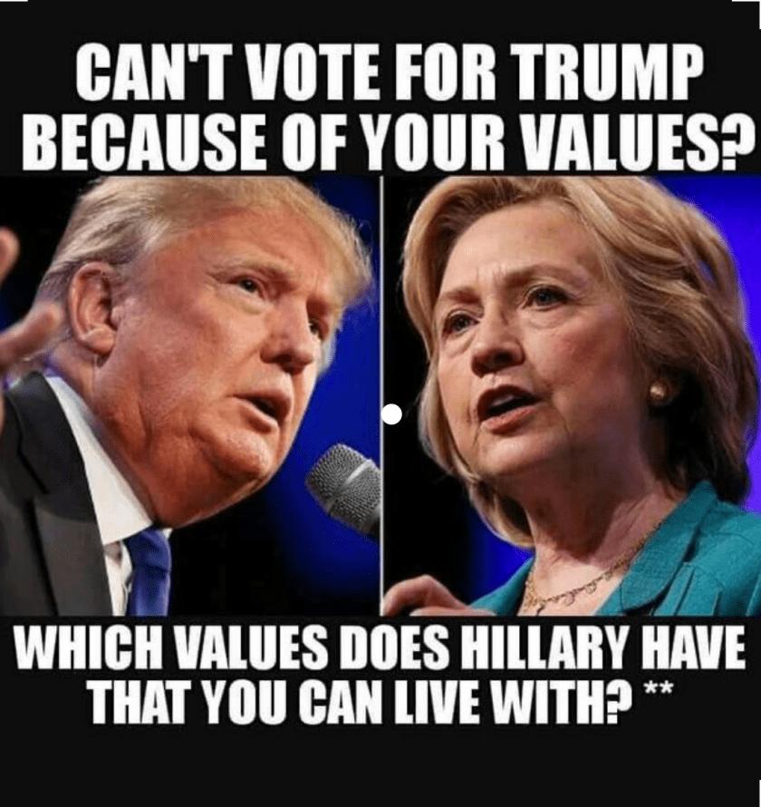 Clinton's Values
