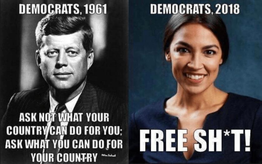 JFK vs Ocasio Cortez