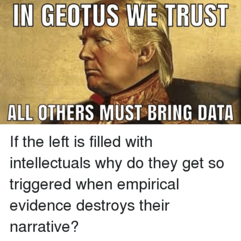 In Geotus We Trust