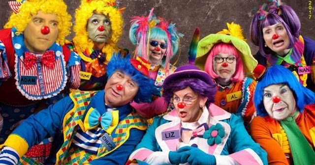 Clowns of D.C. - The Funny Conservative