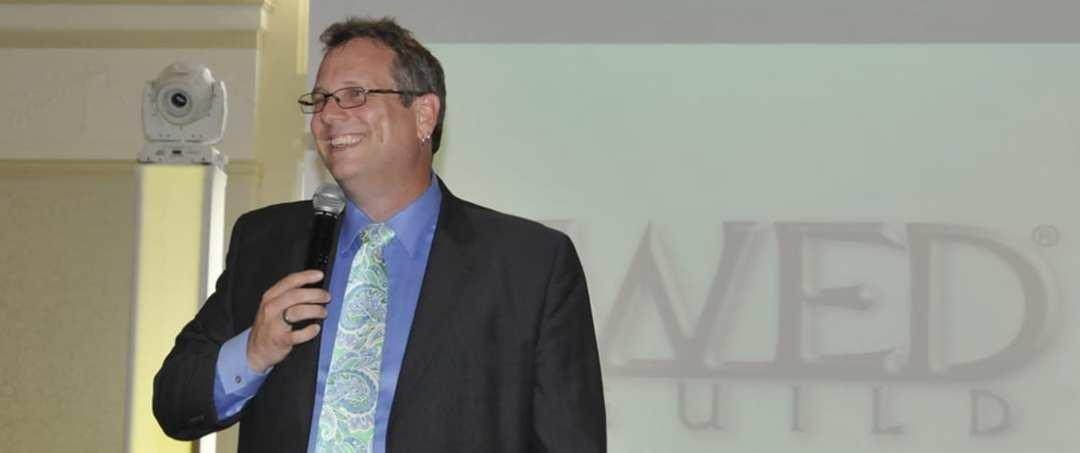 Peter Merry giving a Seminar