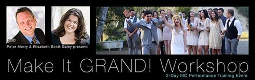 Make It GRAND! Workshop | 2-Day MC Performance Training Event