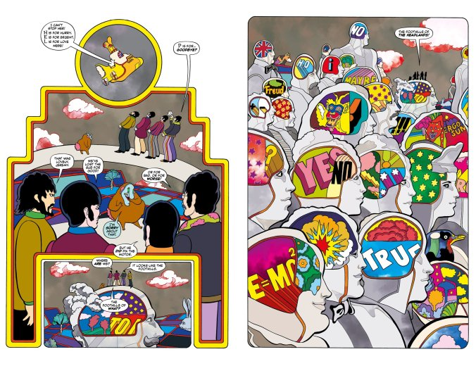 yellow submarine graphic novel