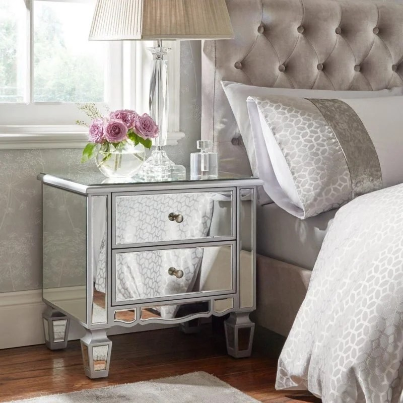 mirage mirrored bedroom furniture the