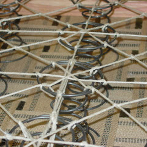 Eight-Way-Hand-tied-springs
