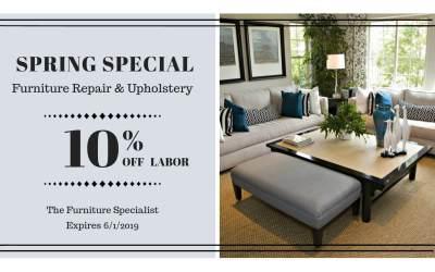 Spring Special 10% off Labor