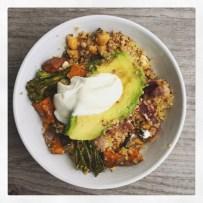 East Mediterranean Style Quinoa Salad