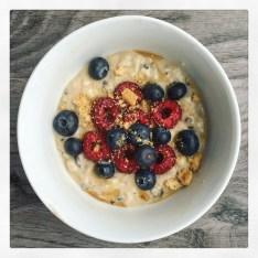 Vegan Protein Cookie Dough Bowl