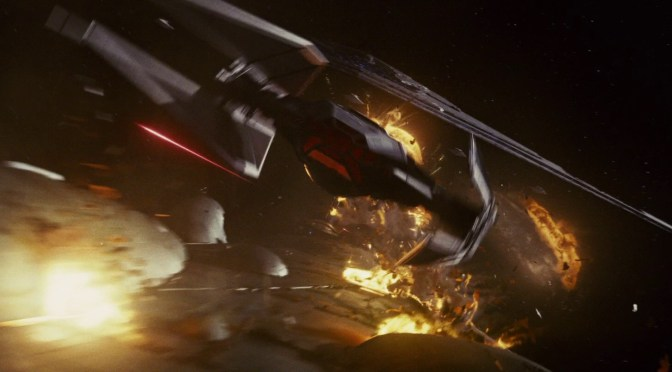 Revealed: Kylo Ren's TIE Silencer in Star Wars: The Last Jedi