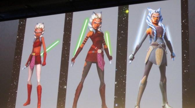Ahsoka's Design Changes Through The Years