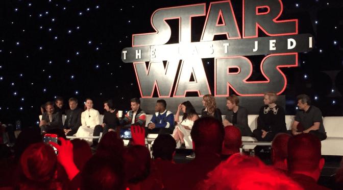 Star Wars: The Last Jedi Los Angeles Press Event