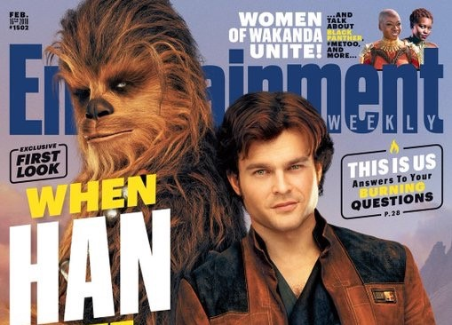Entertainment Weekly Unveil Their Solo: A Star Wars Story Edition