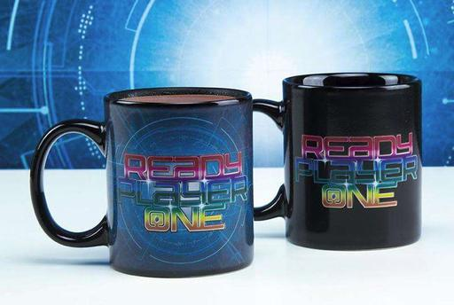 The OASIS Awaits: Paladone's Ready Player One Heat Changing Mugs