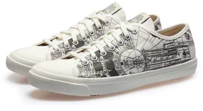 Po-Zu Unveils Incredible New Millennium Falcon Sneakers!